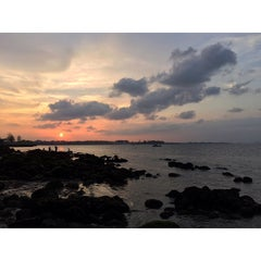 Photo taken at Punggol Promenade by Guosheng on 2/21/2015
