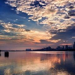 Photo taken at Woodlands Waterfront by Guosheng on 7/11/2013