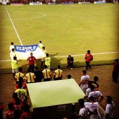 Photo taken at Stadion Bhumi Phala Temanggung by PasoepatiNet on 5/10/2014