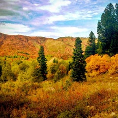 Photo taken at Snowbasin Resort by Tyler on 9/24/2012