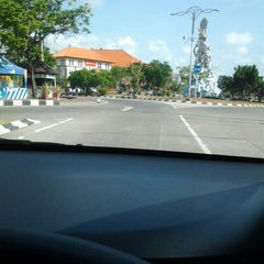 Photo taken at Dewa Ruci Statue (Simpang Siur Roundabout) by Dendy S. on 6/18/2014