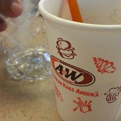 Photo taken at A&W by dj on 7/24/2013