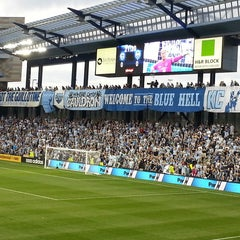 Photo taken at Sporting Park by @HouseofV on 5/9/2013