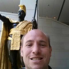 Photo taken at King Kamehameha Statue by Michael M. on 4/16/2014