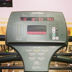 Photo taken at LA Fitness by Jordan T. on 4/1/2014