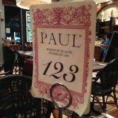 Photo taken at Paul Bakery Cafe by LA on 1/28/2013