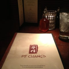 Photo taken at P.F. Chang's by Kelley R. on 1/6/2013