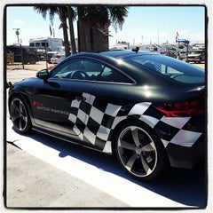 Photo taken at Audi Turn One Club, 12 Hours of Sebring by Louis G. on 3/16/2013