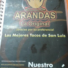 Photo taken at Taqueria Arandas by liz d. on 5/27/2013