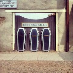 Photo taken at O.K. Corral by Gabriela B. on 12/26/2012