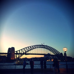 Photo taken at Sydney Harbour Bridge by Andre Y. on 4/13/2013