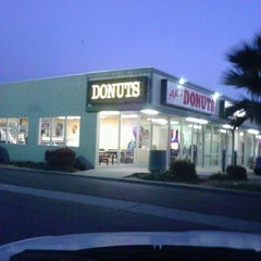 Photo taken at AK's Donuts by Darrell R. on 3/2/2013