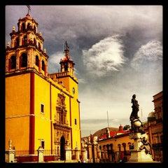 Photo taken at Basílica Colegiata de Nuestra Señora de Guanajuato by Enrique Josue C. on 5/17/2013