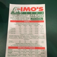 Photo taken at Imo's Pizza by Lando B. on 11/28/2014