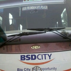 Photo taken at Terminal Feeder Busway Trans BSD by titien franciscus on 10/1/2012