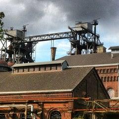 Das Foto wurde bei Landschaftspark Duisburg-Nord von Stefan C. am 10/10/2012 aufgenommen