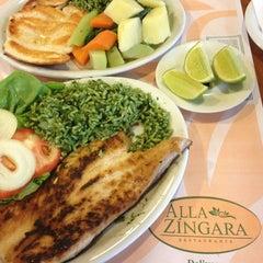 Photo taken at Alla Zíngara Restaurante by Corinne K. on 5/17/2013