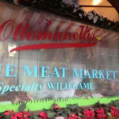 Photo taken at Ottomanelli's Meat Market by Maya B. on 2/2/2013