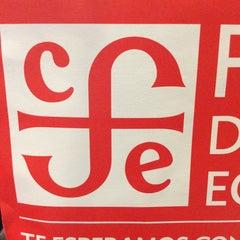 Photo taken at Librería Del Fondo De Cultura Economica by Diana D. on 4/4/2015