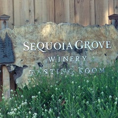 Photo taken at Sequoia Grove Vineyards by Christin D. on 3/8/2013