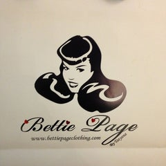 Photo taken at Bettie Page by Meghan G. on 1/25/2013