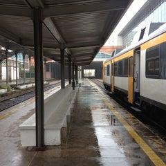 Photo taken at Estação Ferroviária de Viana do Castelo by Egor K. on 10/4/2015