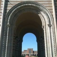 Photo taken at Lovett Hall (Rice University) by Lady B. on 3/1/2013