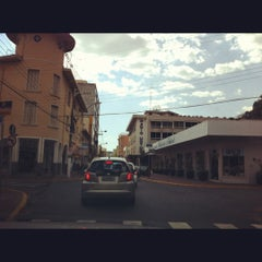 Photo taken at Rua Coronel Pedro Penteado by Marta G. on 10/7/2012