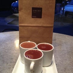 Photo taken at Cacao Drink Chocolate by Jessica L. on 2/24/2013
