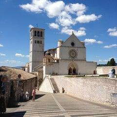 Photo taken at Basilica di San Francesco by Natasha on 7/30/2013