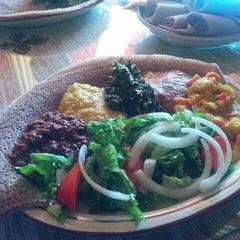 Photo taken at Gojo Ethiopian Restaurant by Jyoti S. on 10/6/2015