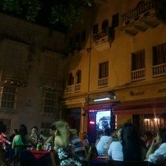 Photo taken at Plaza Santo Domingo by Juan A. on 12/8/2012