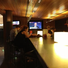 Photo taken at Qantas Club by Wayne M. on 5/14/2013