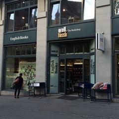 Photo taken at Orell Füssli - The Bookshop by Vanessa P. on 4/22/2016