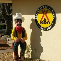 Photo taken at KOA Campground by Monica F. on 3/24/2014