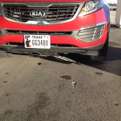 Photo taken at Fort Bend Kia by Kimberly S. on 12/24/2013