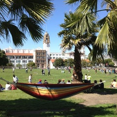 Photo taken at Mission Dolores Park by Take S. on 5/19/2013