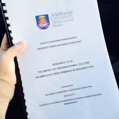 Photo taken at Universiti Teknologi MARA (UiTM) by Bella P. on 12/4/2015