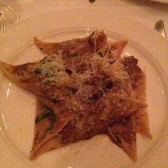 Photo taken at Babbo Ristorante by James K. on 11/26/2012