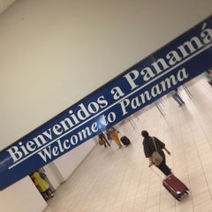 Photo taken at Aeropuerto Internacional de Tocumen (PTY) by David on 1/30/2013
