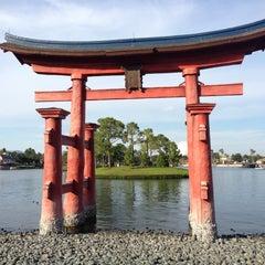 Photo taken at Japan Pavilion by Louis R. on 11/4/2012