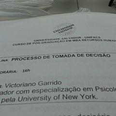 Photo taken at UNIFACS - Universidade Salvador by Jamile B. on 1/22/2013