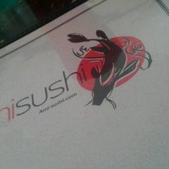Photo taken at Ami Sushi by Sarah P. on 4/7/2013
