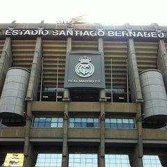 Photo taken at Estadio Santiago Bernabéu by Can K. on 7/9/2013