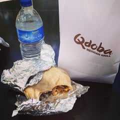 Photo taken at Qdoba Mexican Grill by Kurt P. on 4/11/2013