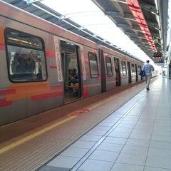 Photo taken at Metro Rojas Magallanes by Daniel A. on 11/23/2012