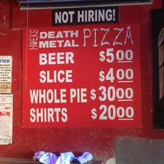 Photo taken at Hoek's Death Metal Pizza by Alex P. on 3/12/2013
