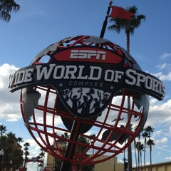 Photo taken at ESPN Wide World of Sports by Gregory C. on 12/4/2012