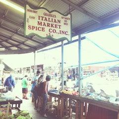 Photo taken at Italian Market by Tyler W. on 6/2/2013