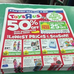"""Photo taken at Toys """"R"""" Us by Nathaniel J. on 12/18/2012"""